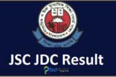 জেএসসি (JSC) ও জেডিসি (JDC) সমমান পরীক্ষার ফলাফল প্রকাশ ২০১৮ (সকল বোর্ড)
