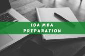 এমবিএ, আইবিএ ভর্তি পরীক্ষা প্রস্তুতি কৌশল ও সাজেশান (MBA Admission Test of IBA Tips & Suggestion)